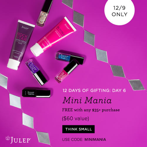 Julep Holiday Gift with Purchase