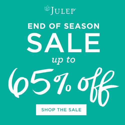 Julep End of Season Sale