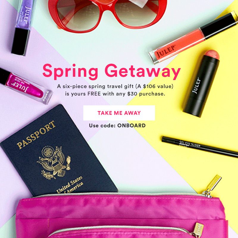 Spring Travel Gift with Purchase ($106 value)