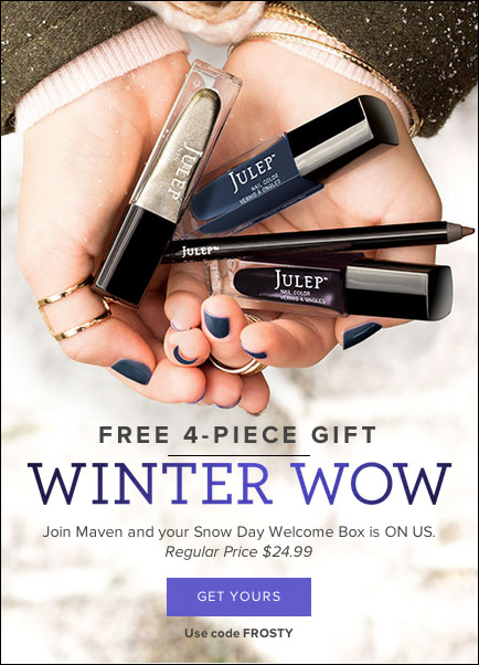 Snow Day Welcome Box Offer
