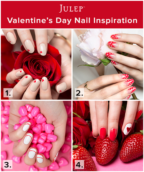 Valentine's Day DIY Nail Inspiration - The Daily Fashion and Beauty News