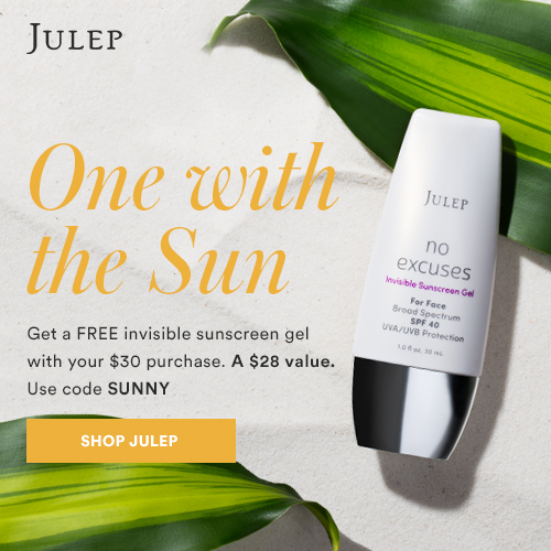 Julep Sunscreen GWP