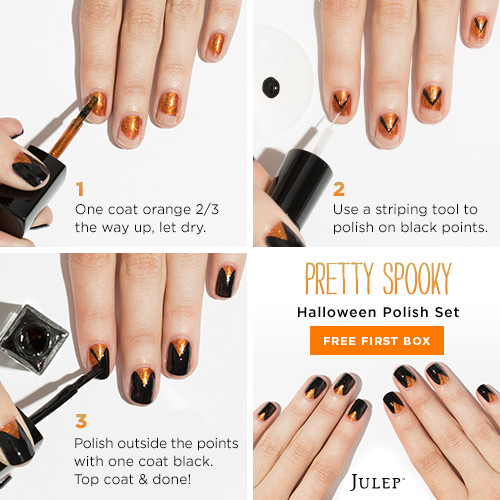 Pretty Spooky Nail Tutorial