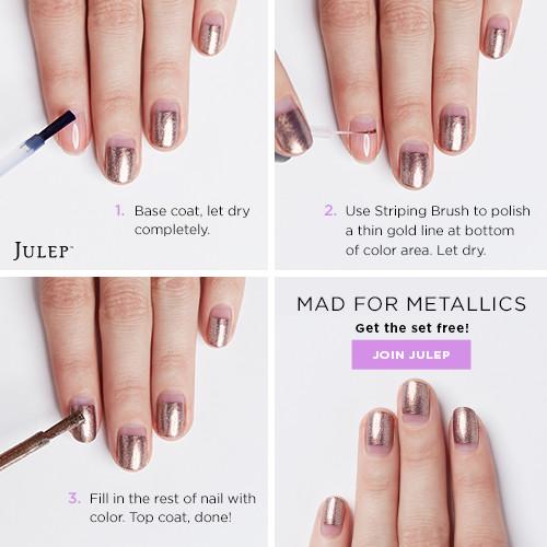Metallic-Nail-Art-Tutorial