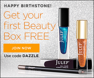Join Julep beauty box and get your first beauty box free!