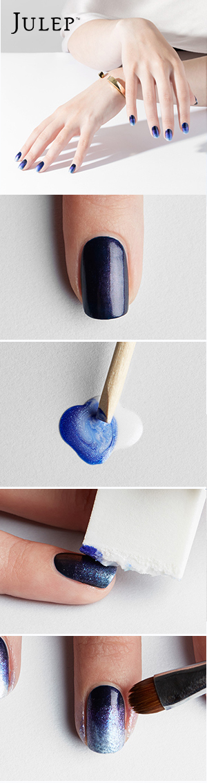 Fall in to Ombre tutorial