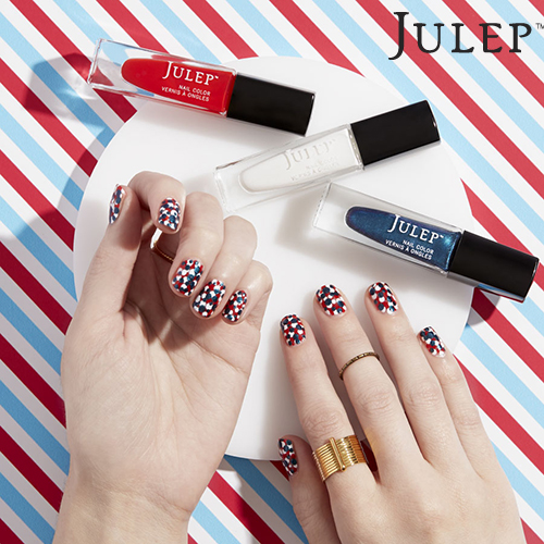 Flag Day Nail Art #1