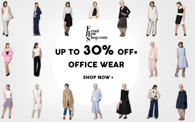 UP TO 30% OFF* OFFICE WEAR