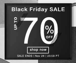 Black Friday Sale- Up to 70% OFF