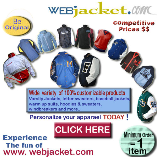 WebJacket : custom-made apparel