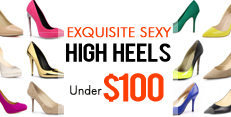 Stylish High Heels all priced under $100. Shop Now!
