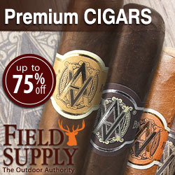 Premium Cigars 75% Off-Field Supply