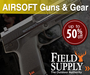 Field Supply 50% Off Air Guns