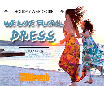Holiday wardrobe! Floral dress up to 30% off Now!