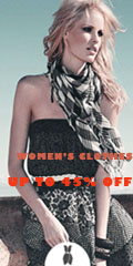 Get Up To 45% Off Women's Clothes.