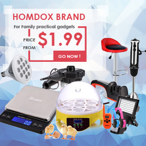 Homdox Brand for family practical gadgets, price from $1.99