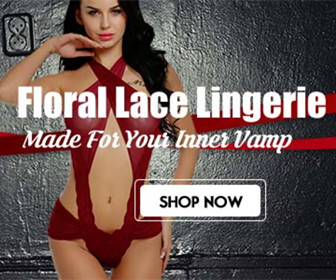 Floral Lace Lingerie-Made For Your Inner Vamp