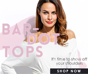 BAR-DOT TOPS-It's time to shou off your shoulders.