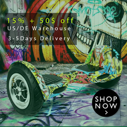 15% off + 50$ off for Scooter in US/DE warehouse!