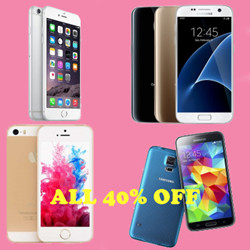 ALL 40% OFF-Get Your New Phone Today