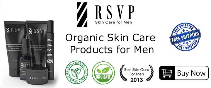 RSVP Organic SKin Care For Men