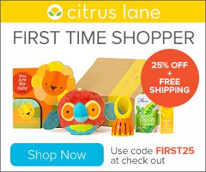 Citrus Lane subscription box – a joy for your little ones