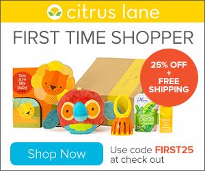 Citrus Lane subscription box – a joy for your little ones