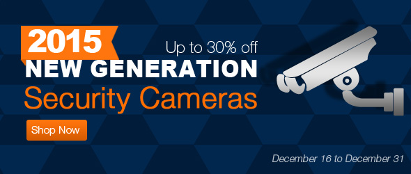 tvc-mall.com: up to 30% off for New Generation Security Cameras