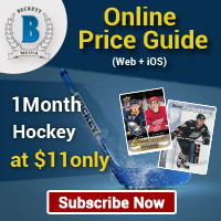 Save $14.10 on Hockey Cards Online Price Guide 6 Month Web Subscription For $45.90