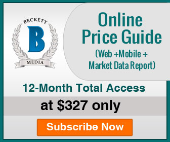 Save 22% on 12 Months Total Access (Web+Mobile App+Market Data Report) Price Guide Subscription.