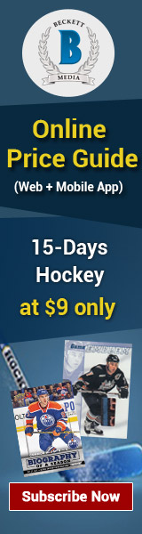 Save $39 on Hockey Cards Online Price Guide 12 Month Web Subscription For $81