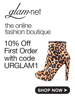 10% off Your first order on www.glam-net.com with URGLAM1