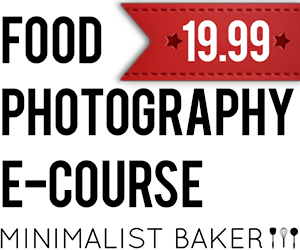 Minimalist Baker Photography E-Course
