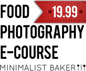 Minimalist Baker Photography E-Course