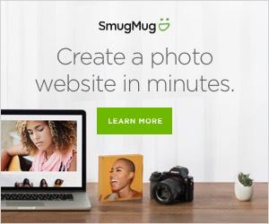 create a photography website