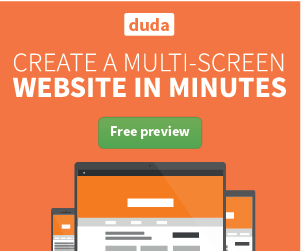 Want to get increase traffic to your site? Convert to a mobile site today at Duda!