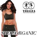 Hot yoga girl in YOGiiZA Organic Cotton sports bra
