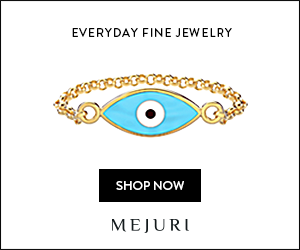Mejuri, Evil Eye Ring, Jewelry