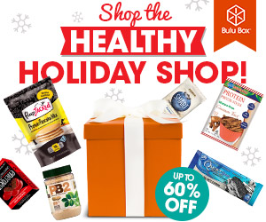 Black Friday / Cyber Monday Sale! Get up to 60% Holiday Products & Bundles at Bulu Box's Healthy Holiday Shop! Take advantage of Great Savings Now!
