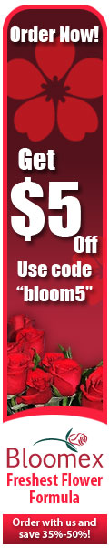 Save 5 dollars using coupon code bloom5