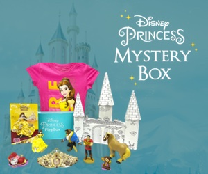 Disney Princess Pleybox, Disney Pleybox, subscription box, toys, disney, princess