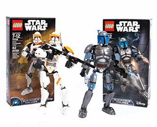 Star Wars Clone Commander Cody and Jango LEGO® Set