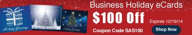 Save $100 by www.customecards.net