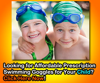 Most Affordable Prescription Swimming Goggles for Kids with Free Shipping Worldwide from GogglesnMore.com