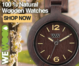 100% Natural Wooden Watches