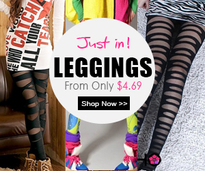 Just in leggings, from only $4.69