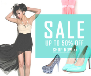 Up to 50% OFF Sale, Ends on Mar 20, 2014