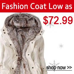 Fashion Coats Low as $72.99