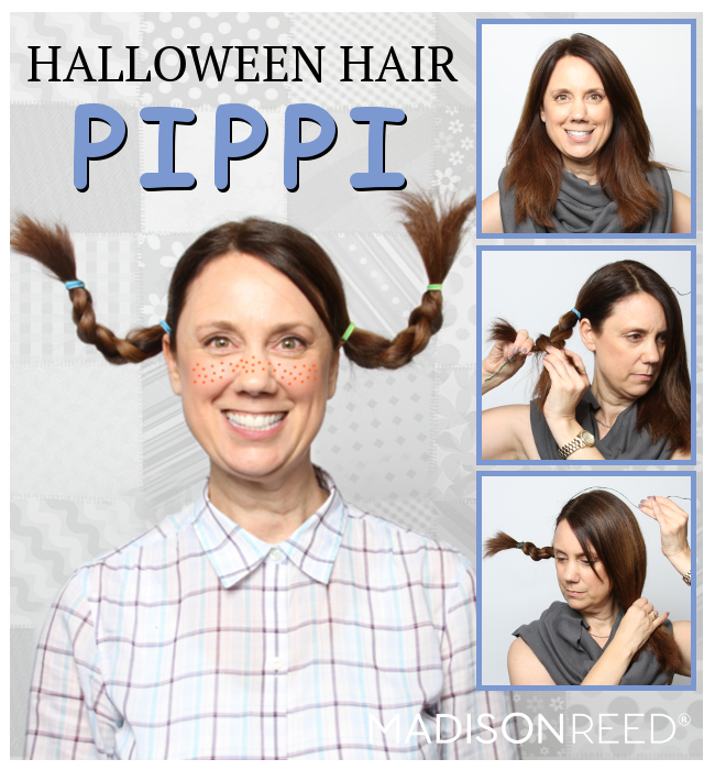 Halloween Hair Ideas Pippi