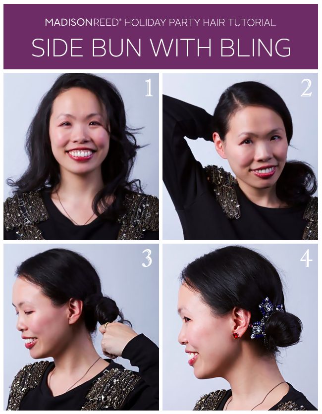 Holiday Hair Tutorial